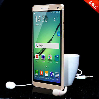 5'' Android Quad Core Dual Sim Unlocked Phone GPS AT&T 3G/GSM/WCDMA Smartphone
