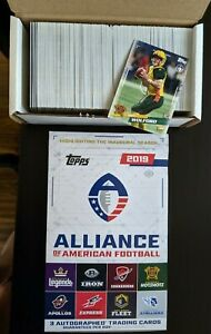 2019-Topps-AAF-Alliance-of-American-Football-Singles-PICK-YOUR-CARDS-FINISH-SET