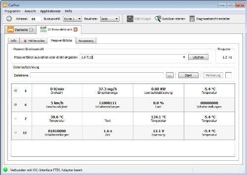 AutoDia K509 für CarPort Software CAN UDS oder KKL Diagnose Interface OBD2