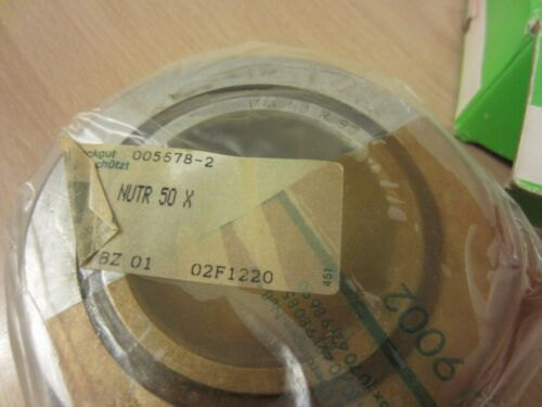 INA NUTR 50 X YOKE TYPE TRACK ROLLER