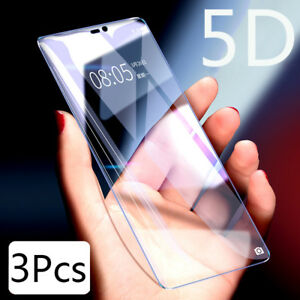 3Pcs-Full-Cover-Blue-Ray-Clear-Tempered-Glass-Screen-Protector-For-OnePlus-6-5T