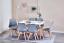 Indexbild 3 - 4er Set Esszimmerstühle Küchenstuhl mit Holzbeinen Wohnzimmer Mehrfarbig Modern
