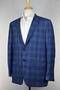Kired By Kiton Men's 140's Wool Sport Coat Jacket Blazer EU 54 / 44 US NEW $3000