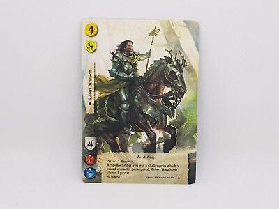 Robert Baratheon 1st Edition LCG A Game Of Thrones Alt Art