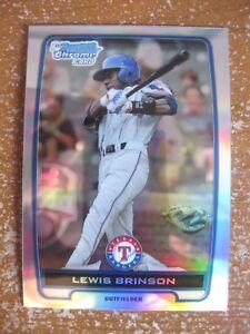 Lewis-Brinson-2012-Bowman-Chrome-Draft-Picks-Refractor-RC-BDPP31-Miami-Marlins