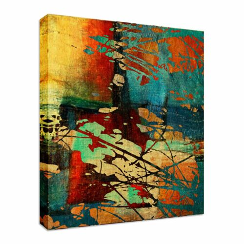 Abstract Warm Colours Canvas wall Art prints high quality great value