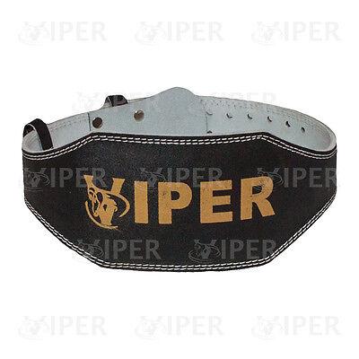 """Per Il Sollevamento Pesi 6"""" Supporto Posteriore Cintura In Pelle Cinturino Da Palestra Fitness Allenamento Potere-"""