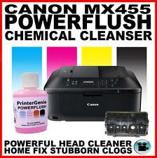 Canon PIXMA MX455 Impresora: Kit de limpieza de cabezales: Boquilla al ras del cabezal de impresión desatascador
