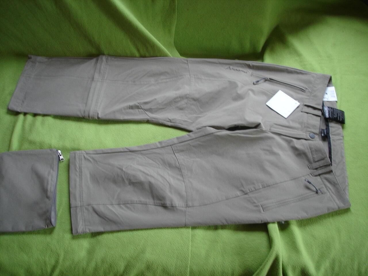 Schöffel Hose Bailey Farbe Farbe Farbe  4660 Brindle Hosenbein auf 3 4 umfunktionierbar Neu 2d3b36