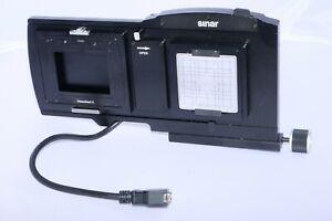 Sinar p3 Sliding Adapter 100.  Sinar Catalog # 551.32.192. Hasselblad H Adapter