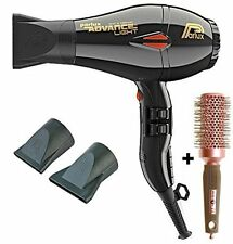 Parlux Advance Light Ionic and Ceramic Hair Dryer Black + Free Brush