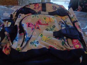 f787071fe2a0 Image is loading Pottery-Barn-Kids-Mackenzie-Gray-rainbow-butterfly-Backpack -