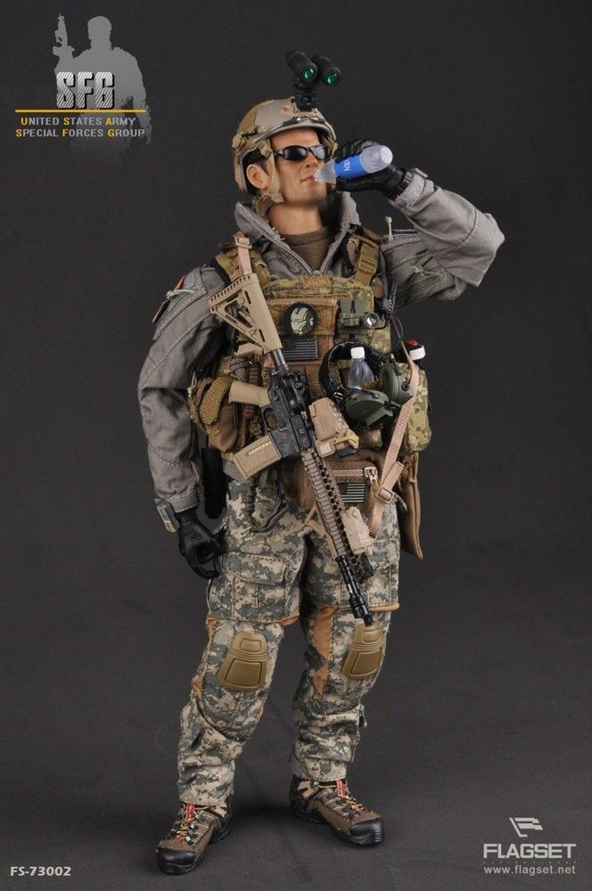 Flagset 1 6 FS-73002 U.S. ARMY SFG Special Forces Group New