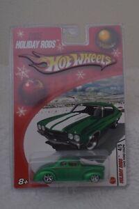 Hotwheels-2005-Hot-Rods-vacaciones-1940-Verde-Ford-Coupe-4-5-Coleccionable-Sellado