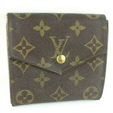 Authentic Louis Vuitton M61660 Monogram Old Portonebier Wallet PVC