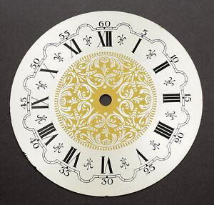 Uhren-Zifferblatt-D-175-f-Uhrwerk-Wanduhr-Tischuhr-Uhrwerk-Uhr-clock-dial