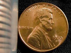 1970 P D S  Lincoln Memorial Pennies