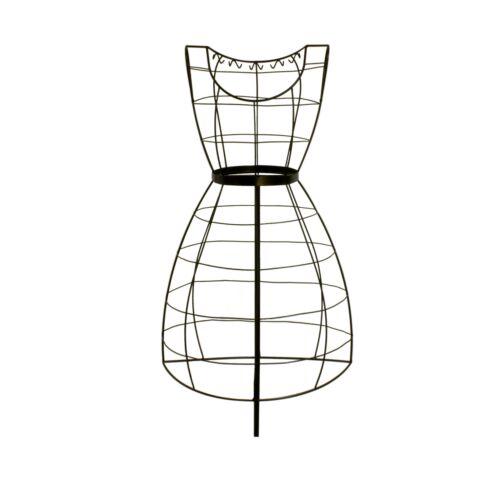 Schneiderpuppe Torso weiblich Metallbüste feminin Damenbüste Kleiderpuppe Büste