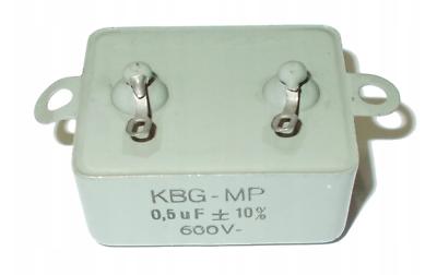 Gerade Kondensator Telpod Kbg-mp 0,5 Uf 600v 10 Stck /ji90
