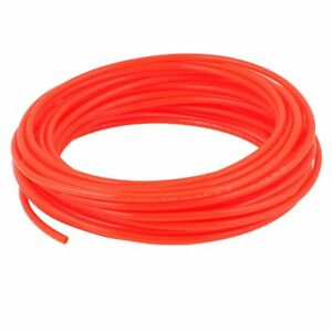 10-Meter-Orange-Color-4mm-OD-x-2-5mm-ID-PU-Tube-Air-Tubing-Pipe-Hose