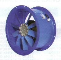 """18"""" 450mm CASED AXIAL EXTRACTOR FAN , 3 PHASE ideal Kitchen Canopy Ventilation"""