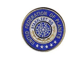 Star-Trek-Ecusson-brode-Starfleet-HQ-United-federation-of-planets-patch
