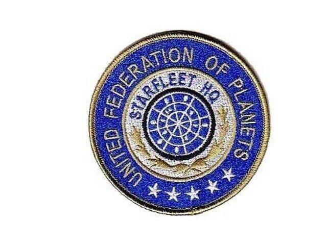 Star Trek Ecusson brodé Starfleet HQ United federation of planets patch