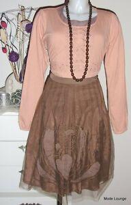 Gr Noa 34 Brown skirt Net Jupe Xs Nouveau Jupe Field Norfolk Otwrxqp4O