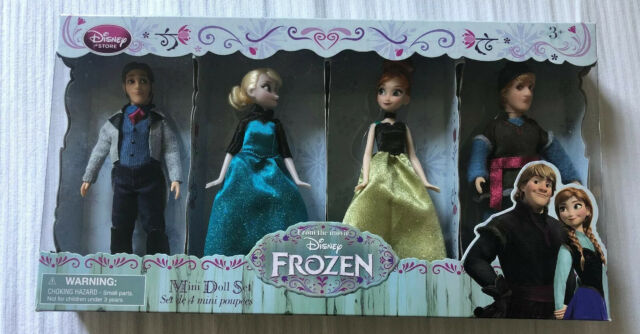 Set Gigante Bambola Barbie Disney Frozen Anna Elsa Kristoff Hans Vestiti For Sale Online Ebay