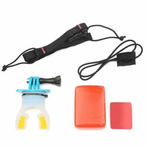 Surfing-Mouth-Bite-Mount-Floaty-Neck-lanyard-for-GoPro-Hero-5-4-3-3-A