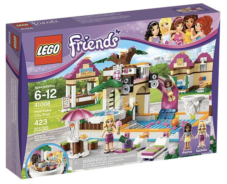 LEGO® Friends 41008 Großes Schwimmbad NEU OVP_Heartlake City Pool NEW MISB NRFB