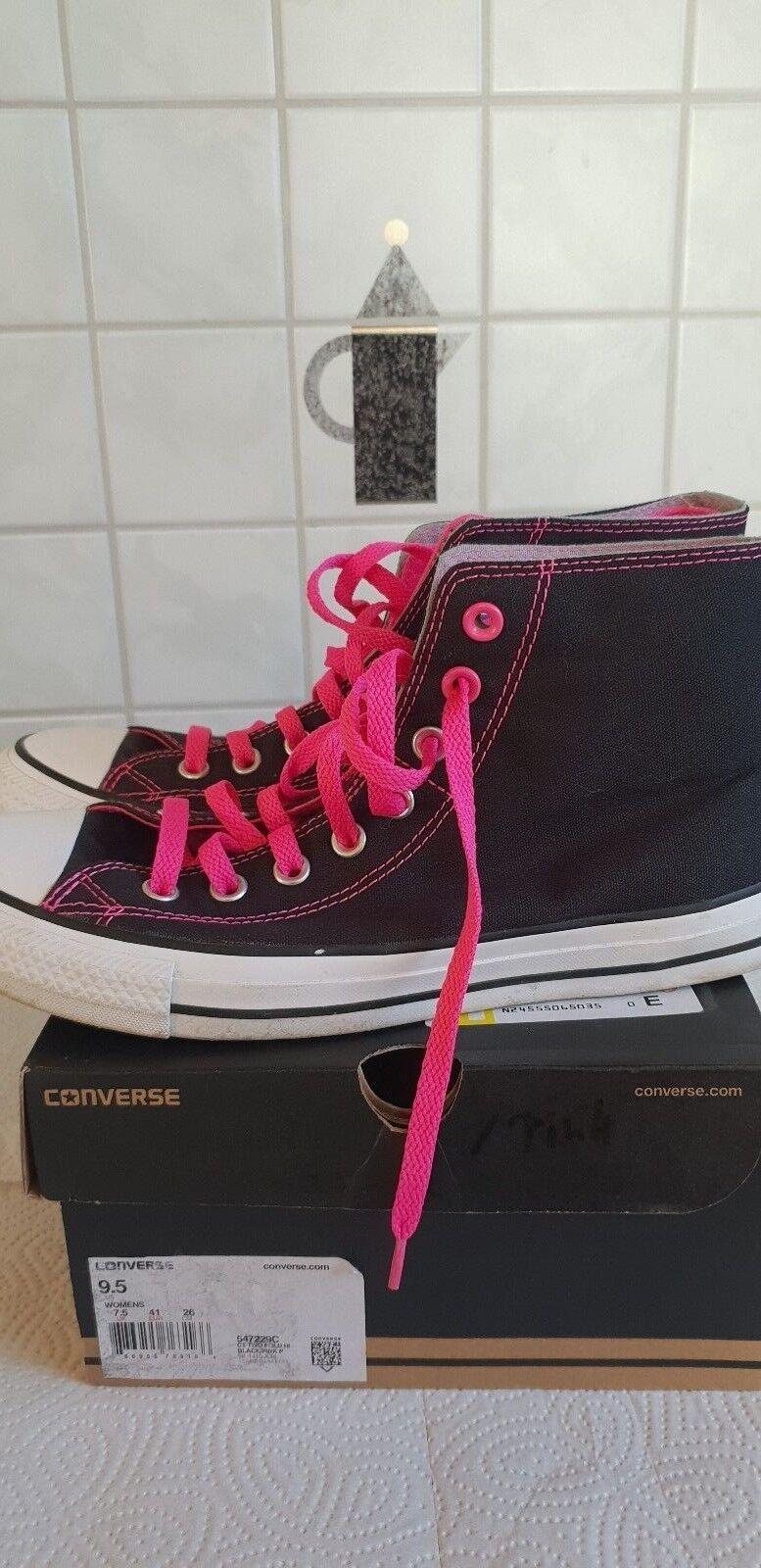 Converse Chucks Two Fold Hi 547229C Schwarz Pink Grau EUR 41