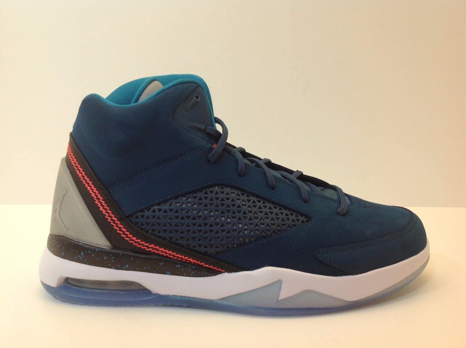 Nike Air Jordan Flight Remix Blue/Infrared Men's Comfortable Cheap women's shoes women's shoes