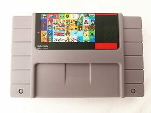Super 143 in 1 Game 16 Bit for Nintendo SNES Multi Cart Game Cartridge NTSC-U/C