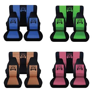 Brilliant Details About Fits Front And Rear Seat Covers For 2013 2015 Jeep Wrangler 4 Door 40 60 Rear Machost Co Dining Chair Design Ideas Machostcouk