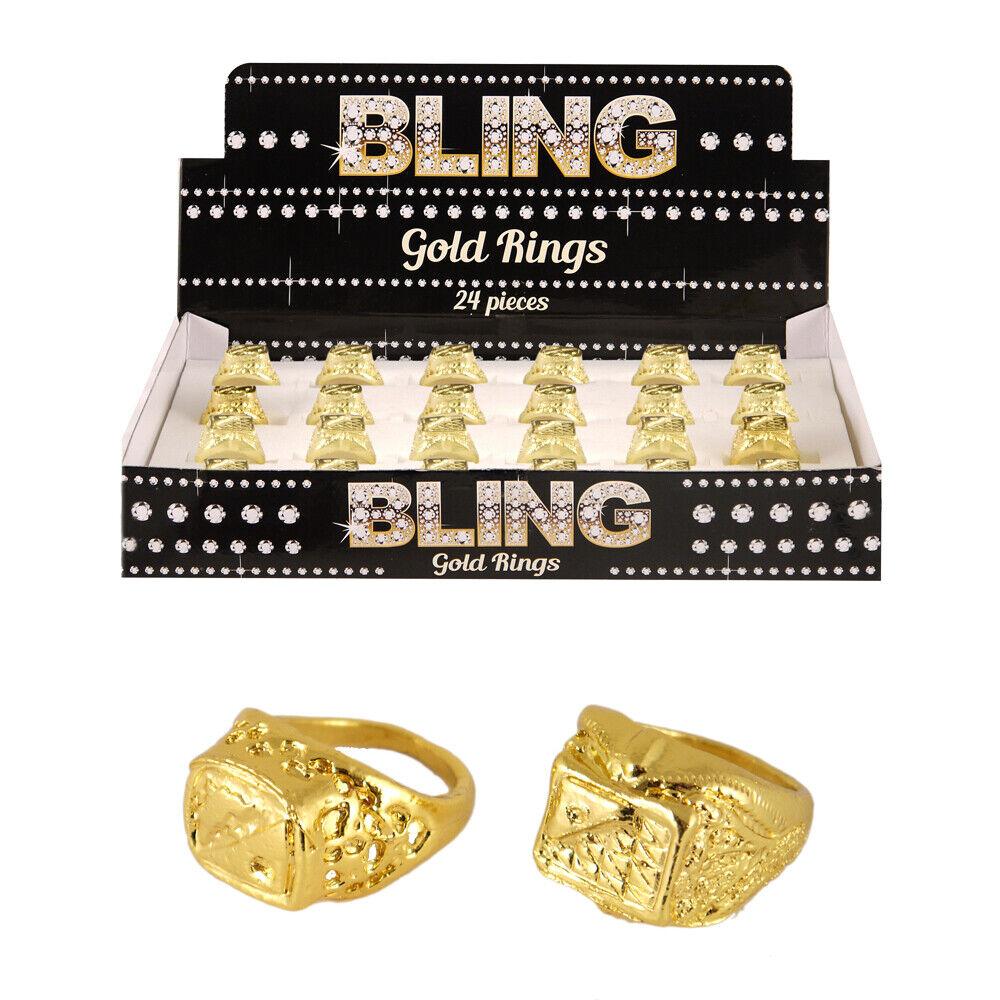 Mr T Baracus Gold Necklace Bling Gangster Rapper Fancy Dress A Team 1980/'s