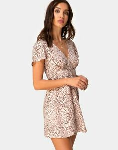 MOTEL-ROCKS-Elara-Dress-in-Safari-Taupe-Medium-M-mr24