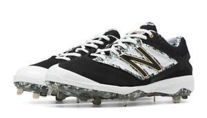 40ca5a2e0bd72 NEW BALANCE Mens '4040v3' Black Camo Cleat Baseball Shoes D width | eBay