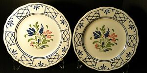Johnson-Brothers-Provincial-Dinner-Plates-9-3-4-034-Scalloped-Set-of-2-Excellent