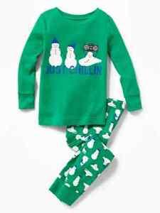 NWT Old Navy Choo Choo Train Graphic Sleep Set Pajamas Set PJ Boys 4T 5T 6T