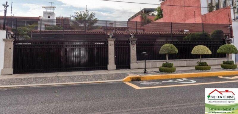 GREEN HOUSE VENDE CASA EN UN NIVEL EN PEDREGAL DE SAN FRANCISCO COYOACAN