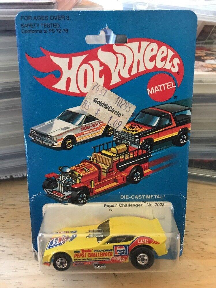 1 64 Hot Wheels Wheels Wheels Pepsi Challenger En Blister Original De 1981 162c2e