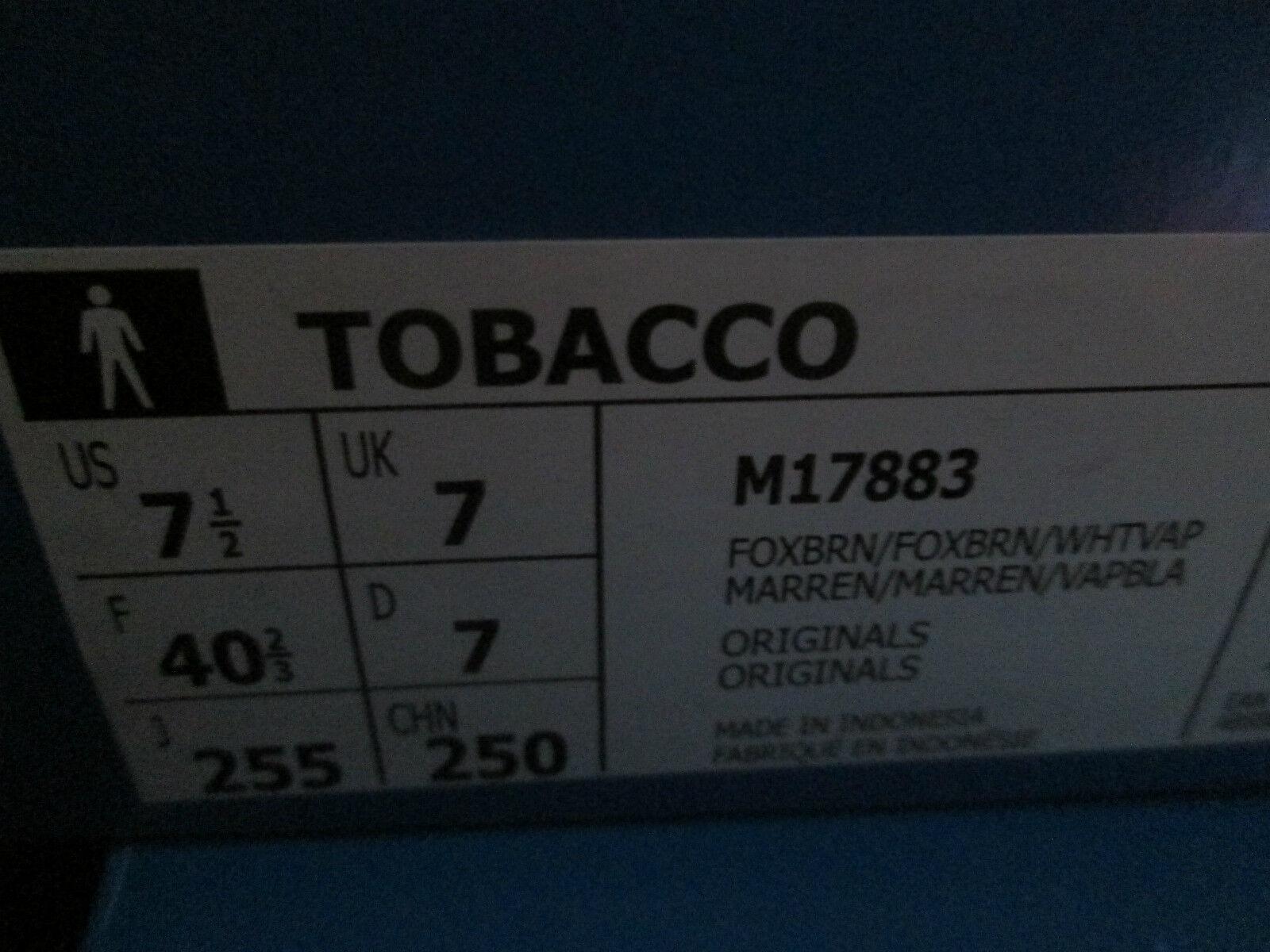 NEW ADIDAS TOBACCO M17883   Herren BOYS TRAINERS UK BNIB SIZE 6 6.5 7 BNIB UK FOX BROWN 956823