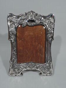 Art Nouveau Frame - Picture Photo Antique Edwardian - English Sterling Silver