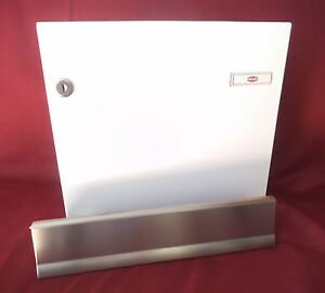 innent r renz durchwurf briefkasten komplett einwurf t r und tor 370 mm kah81 ebay. Black Bedroom Furniture Sets. Home Design Ideas