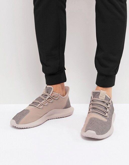 Adidas Originals Tubular Shadow Vapour Grey Raw Pink Textile Running BY3574