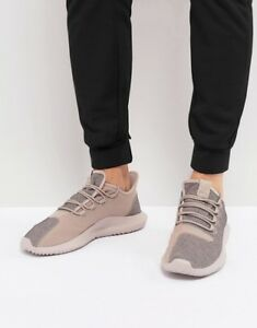 finest selection 4e550 33c69 Image is loading Adidas-Originals-Tubular-Shadow-Vapour-Grey-Raw-Pink-