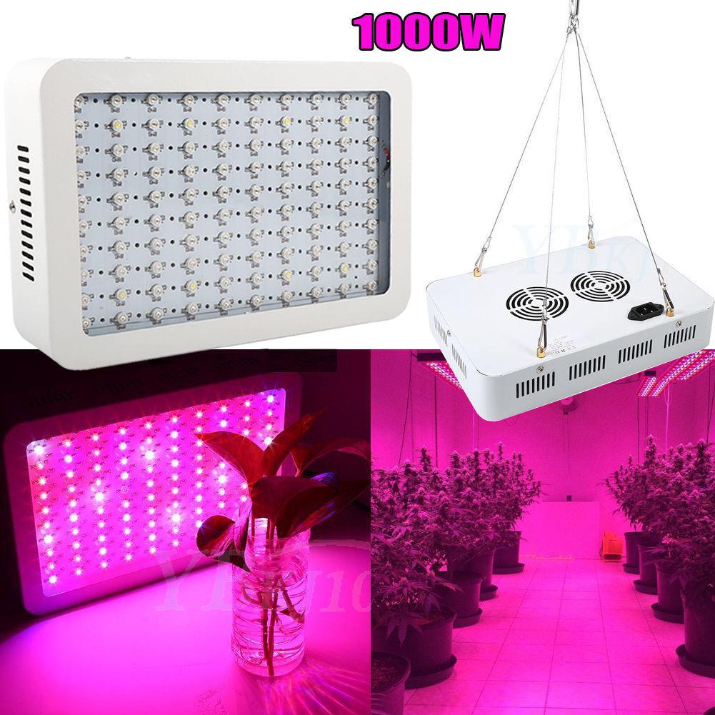 600W 1000W Full Spectrum Plant Growing Light Hydro LED Lamp Indoor grönhous JN