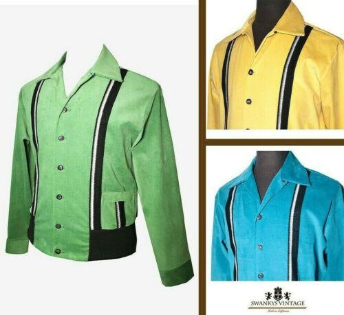 1950s Mens Shirts | Retro Bowling Shirts, Vintage Hawaiian Shirts   Swankys Vintage 1950s  Sport Gaucho Small-2X $127.00 AT vintagedancer.com