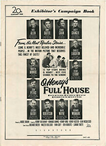 O-HENRY-039-S-FULL-HOUSE-1952-Marilyn-Monroe-Laughton-A-Baxter-COMPLETE